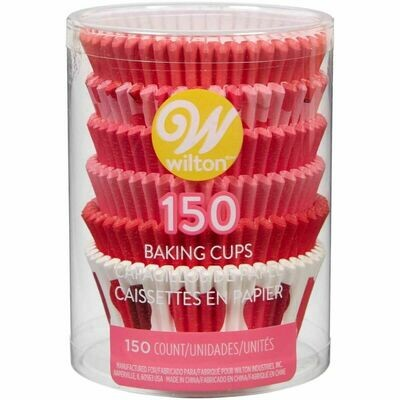 Wilton Valentine Cupcake Cases -'BE MINE'  -Θήκες ψησίματος 150 τεμ