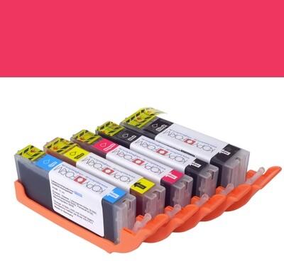 Edible Ink Cartridge -RED for CANON TS705, -Βρώσιμο Μελάνι Κόκκινο