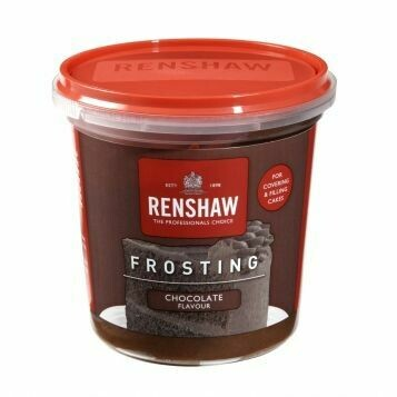 Renshaw Pro Ready-To-Use Frosting -CHOCOLATE -400g Ετοιμο frosting με γέυση σοκολάτα