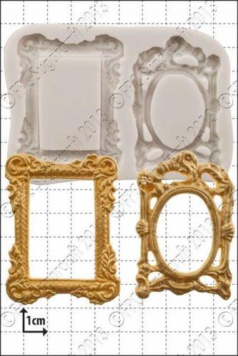"FPC- 'Picture Frames' Silicone Mould -Καλούπι ""Κορνίζες Φωτογραφίας"""