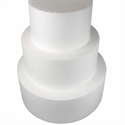"""Φελιζόλ Round Cake Dummy 10cm (4""""). (10cm high) -Στρογγυλό 10εκ."""