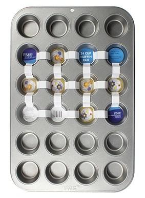 PME Baking Tin for 24 MINI Cupcakes -Ταψί για 24 Μίνι Κάπκεϊκς