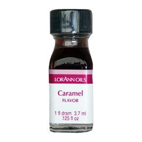 LorAnn - Oils Super Strength Food Flavouring Caramel - Φυσικό Έλαιο Καραμέλας - 3.7ml