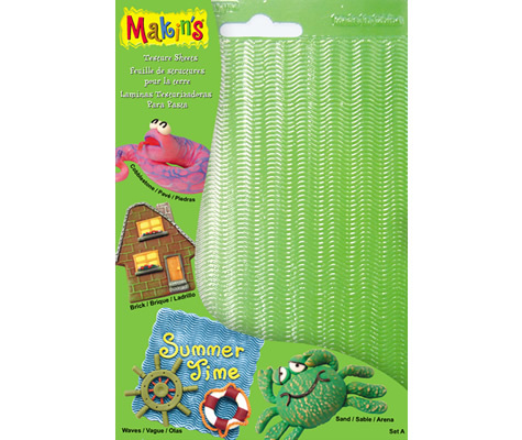Makins Texture And Embossing Set A
