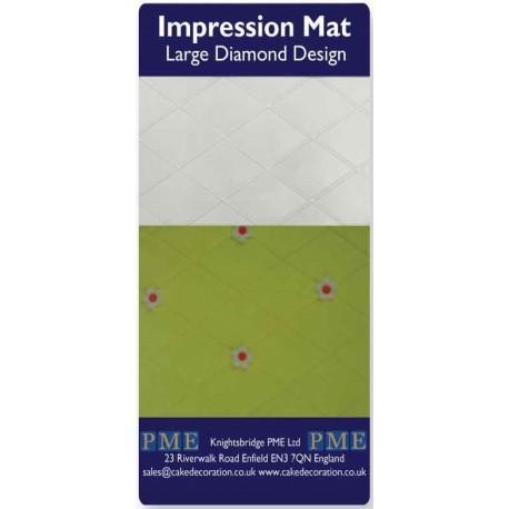 PME Impression Mat -LARGE DIAMOND -Βάση Αποτύπωσης Σχεδίου Μεγάλο Διαμάντι