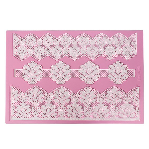 Claire Bowman -Cake Lace Mat -Damask -Πατάκι δαντέλας