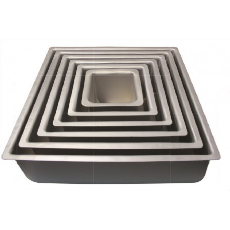 "PME Baking Tin -SQUARE DEEP 10"" -Πολύ Βαθύ Τετράγωνο Ταψί 25εκ"