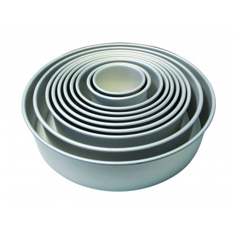 "PME Baking Tin -ROUND DEEP 10"" -Πολύ Βαθύ Στρογγυλό Ταψί 25εκ"