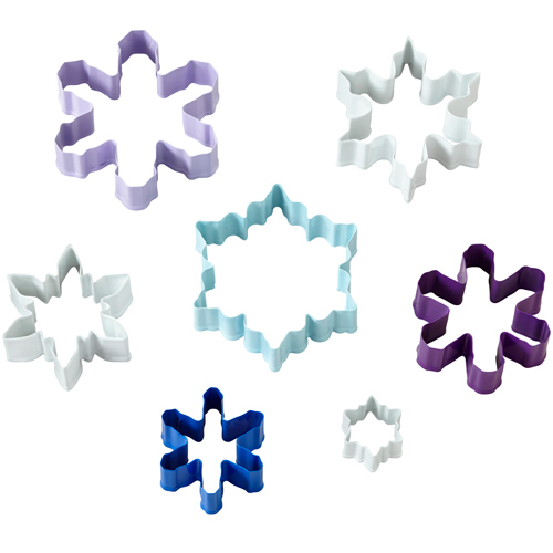 Wilton Christmas Set of 7 Cutters SNOWFLAKE -Σετ 7 Κουπάντ Χιονονιφάδες