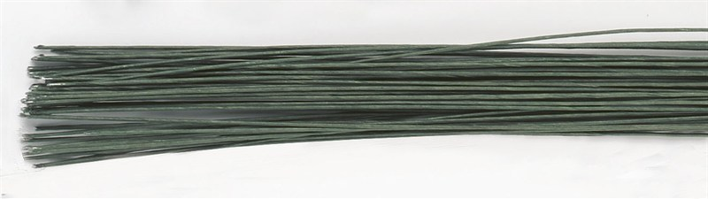 Culpitt Floral Wire -DARK GREEN -26 gauge -Σύρμα Λουλουδιών -Σκούρο Πράσινο 50 τεμ