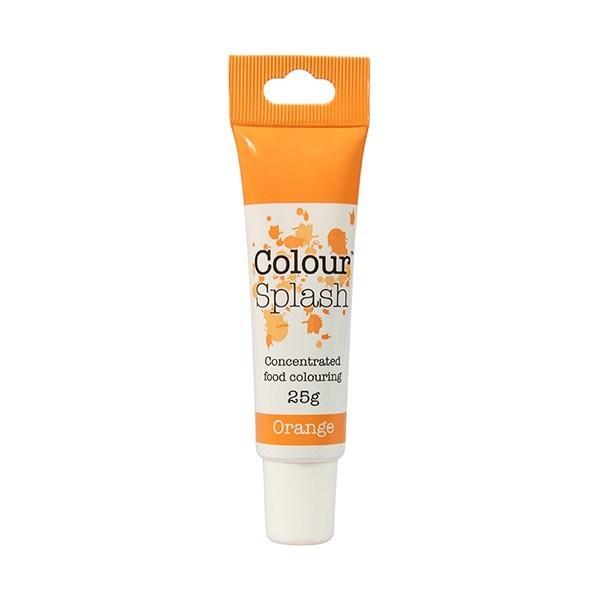 Colour Splash - Gel Orange - Χρώμα Πάστας - Πορτοκαλί - 25γρ