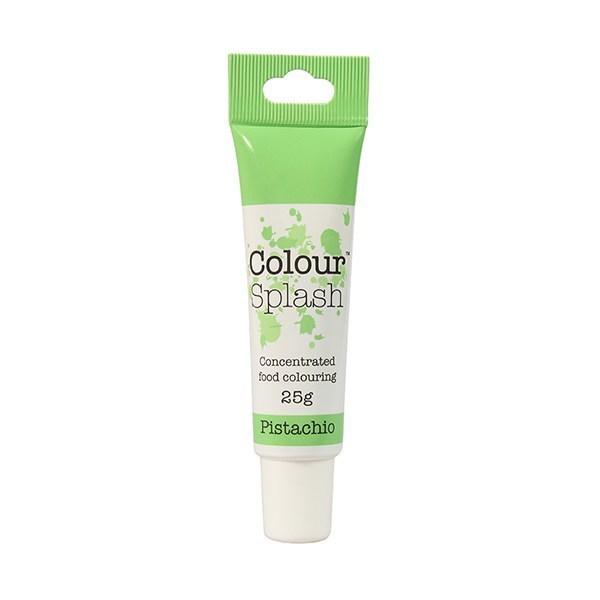Colour Splash - Gel Pistachio - Χρώμα Πάστας - Φυστικί - 25γρ