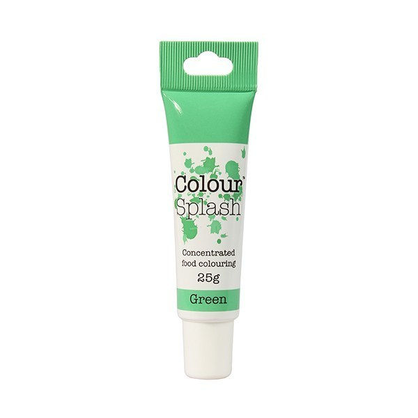 Colour Splash GEL -GREEN -Χρώμα Πάστας -Πράσινο 25γρ