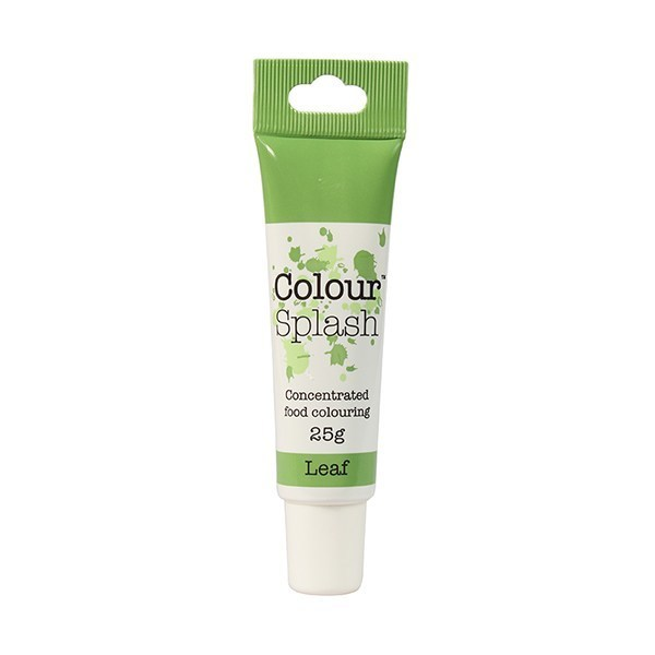 Colour Splash - Gel Leaf Green - Χρώμα Πάστας - Πράσινο του Φύλλου - 25γρ