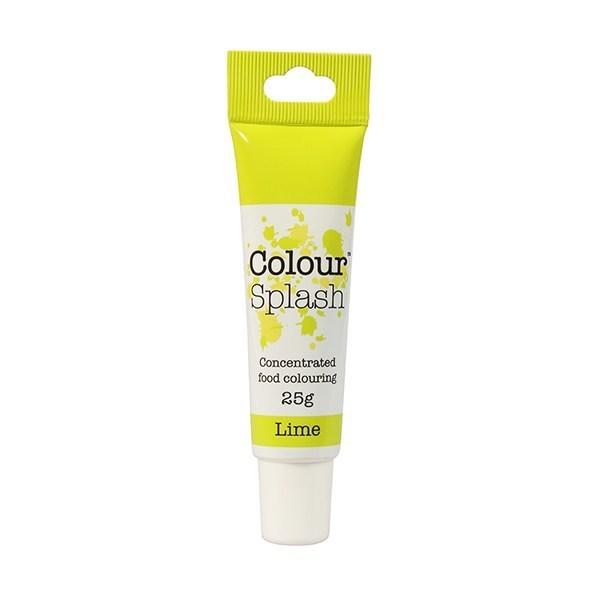 Colour Splash - Gel Lime - Χρώμα Πάστας - Λάϊμ - 25γρ