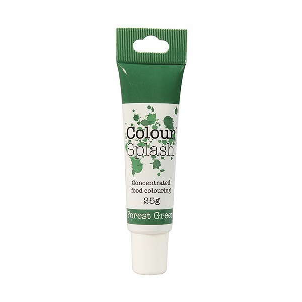 Colour Splash - Gel Forest Green - Χρώμα Πάστας - Πράσινο του Δάσους - 25γρ