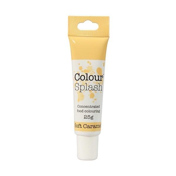 Colour Splash - Gel Soft Caramel - Χρώμα Πάστας - Απαλή Καραμέλα - 25γρ