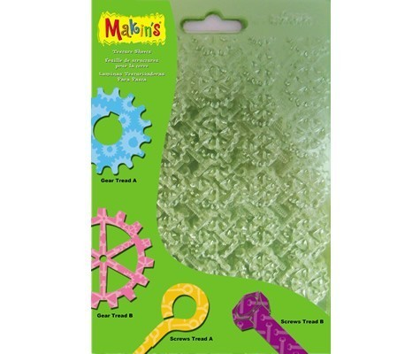 Makins Texture And Embossing Set F