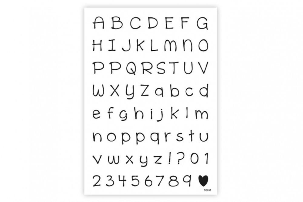 impressit™ Alphabet & Numbers Schoolwork - Αλφάβητος & Αριθμοί Σχολική Εργασία