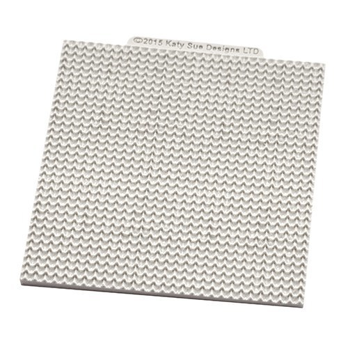 Katy Sue Silicone Embossing Mat -KNITTING -Καλούπι Πλεκτό