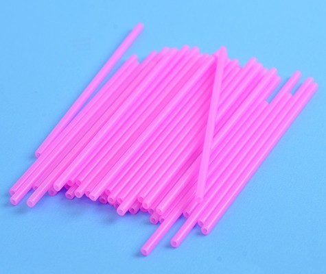 Cake Pop Sticks Pink -Ροζ Στικάκια για Cake Pops -15εκ -25τμχ