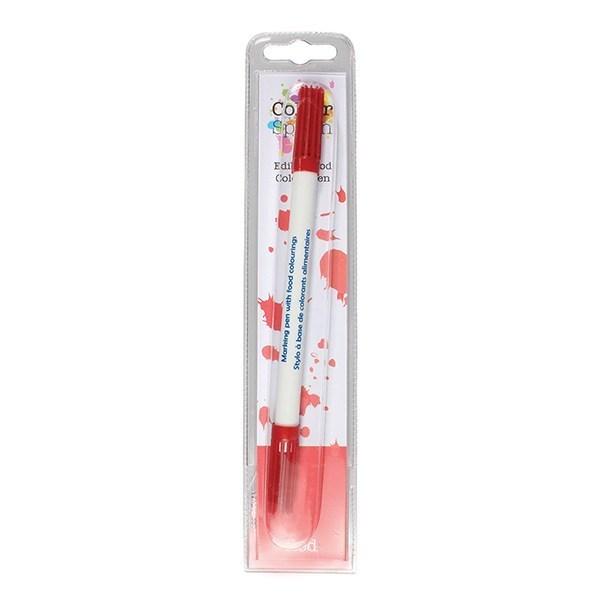 Colour Splash Food Pen -RED -Μαρκαδόρος Με Δύο Άκρες -Κόκκινο