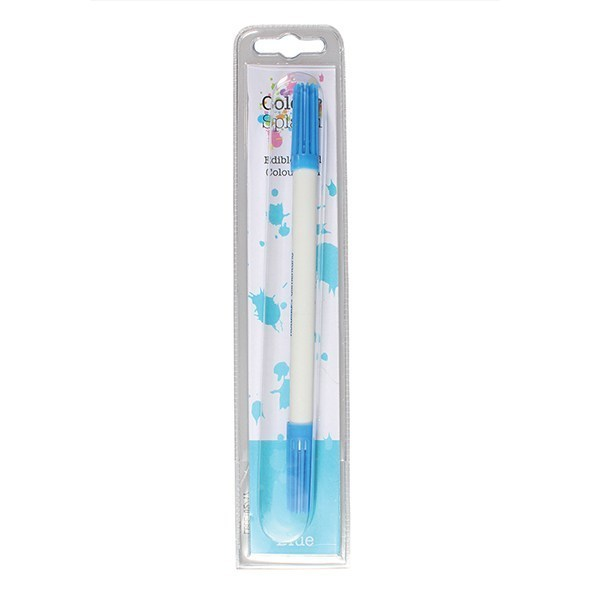 Colour Splash Food Pen -BLUE -Μαρκαδόρος Με Δύο Άκρες -Μπλε