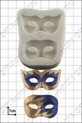 FPC -Masquerade Masks' Silicone Mould