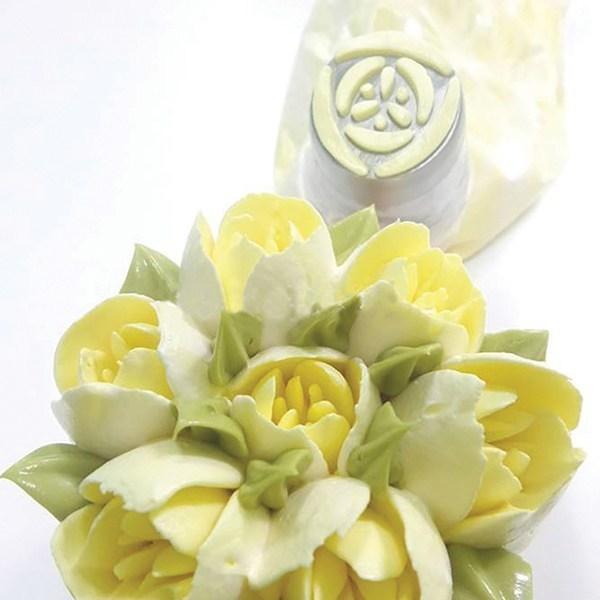 SALE!!! Bakeless Flower Nozzle -TULIP -Μύτη Κορνέ Τουλίπα