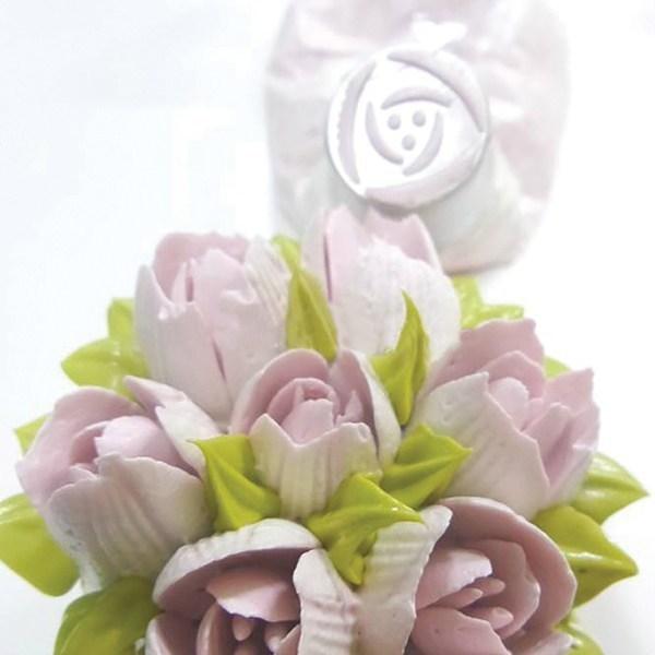 SALE!!! Bakeless Flower Nozzle -POPPY -Μύτη Κορνέ Παπαρούνα