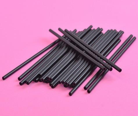 Cake Pop Sticks Black -Μαύρα Στικάκια για Cake Pops -15εκ -25τμχ