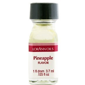 LorAnn - Oils Super Strength Food Flavouring Pineapple - Φυσικό Έλαιο Ανανά - 3.7ml
