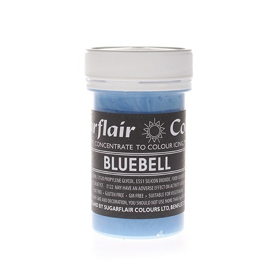 Sugarflair Paste Colours -BLUEBELL -Χρώμα Πάστα -Καμπανούλα