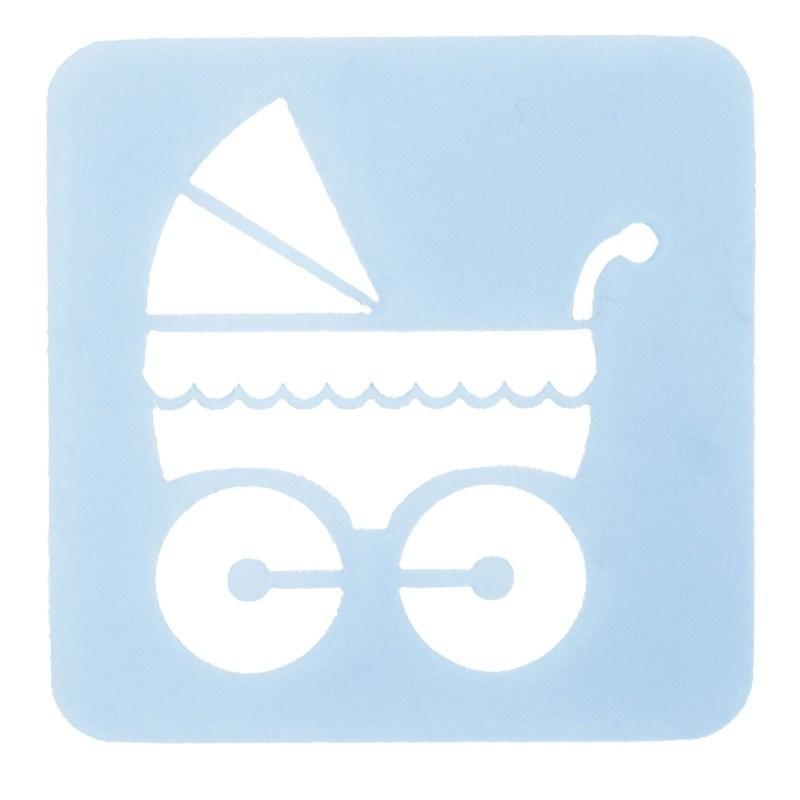 SALE!!! Culpitt - Stencil Pram - Στένσιλ Καροτσάκι Μωρού  - 65χιλ