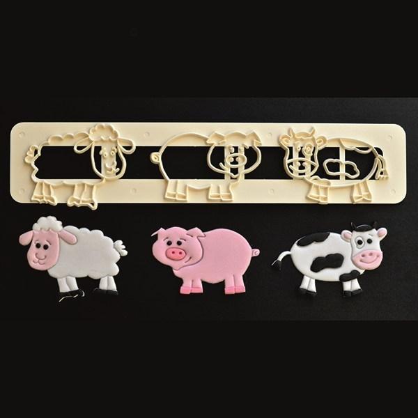 SALE!!! FMM Tappit Cutter Set -FARM ANIMALS -Κουπάτ Γλυκά Ζωάκια Φάρμας