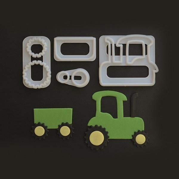FMM - Tractor Cutter set of 4 - Κουπάτ Τρακτέρ - 4τεμ/πακέτο - 80x75χιλ