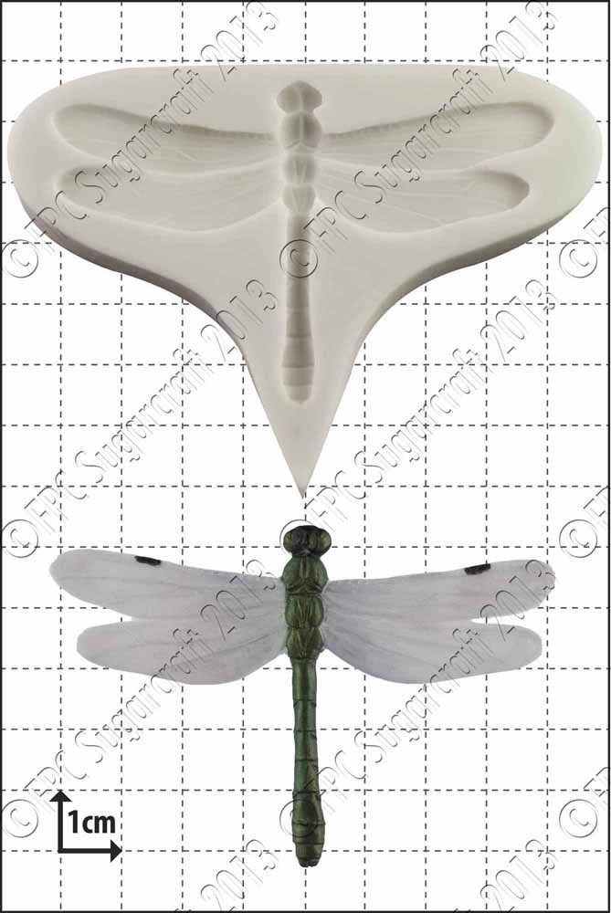 """FPC -""""Dragonfly"""" Silicone Mould -Καλούπι"""