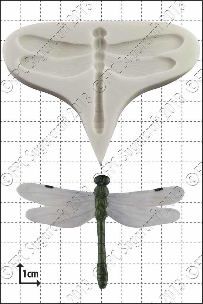 FPC - Dragonfly Silicone Mould - Καλούπι Λιβελούλα