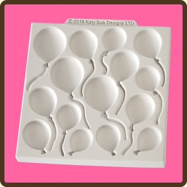 Katy Sue Silicone Mould -BALLOONS -Καλούπι Μπαλόνια