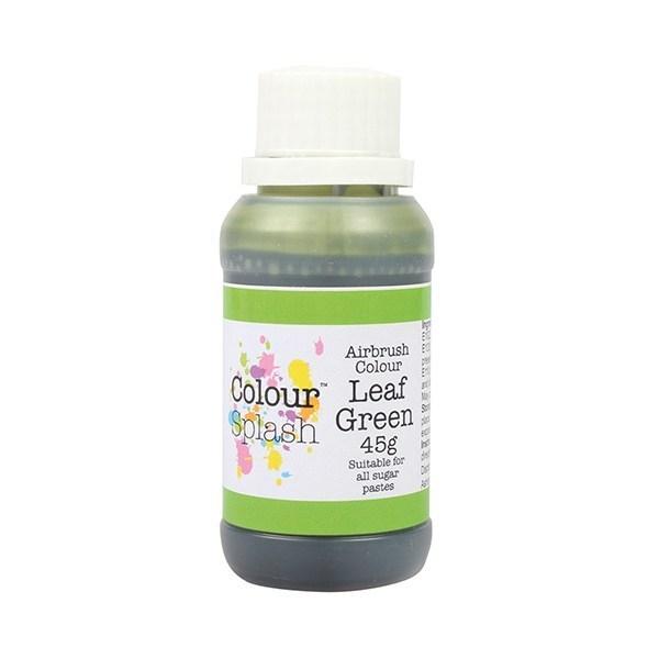 SALE!!! Colour Splash Airbrush Colour -LEAF GREEN -Χρώμα Αερογράφου Πράσινο Φύλλο 45γρ  ΑΝΑΛΩΣΗ ΚΑΤΑ ΠΡΟΤΙΜΗΣΗ 03/2022