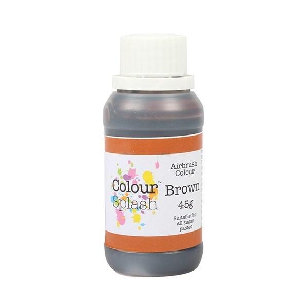 SALE!!! Colour Splash Airbrush Colour -BROWN -Χρώμα Αερογράφου Καφέ 45γρ ΑΝΑΛΩΣΗ ΚΑΤΑ ΠΡΟΤΙΜΗΣΗ 11/2021