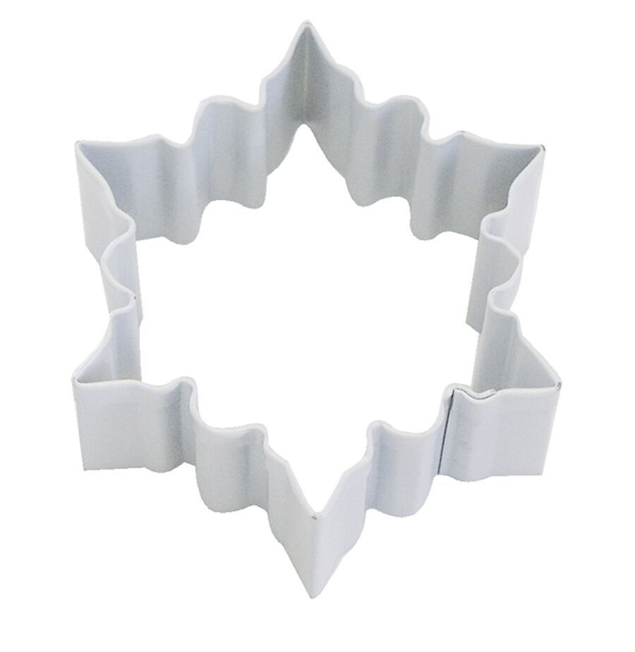 By AH -Cookie Cutter -SNOWFLAKE -WHITE -SMALL -Κουπάτ Μικρή Λευκή Χιονονιφάδα 7εκ