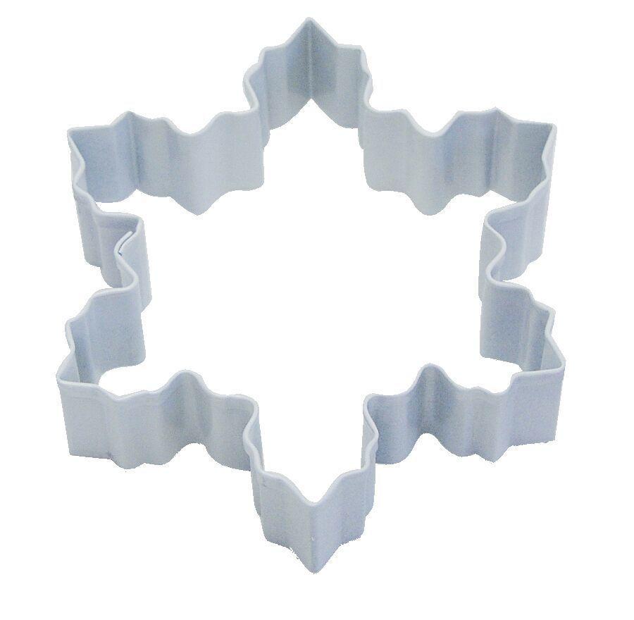 By AH -Cookie Cutter -SNOWFLAKE -WHITE -LARGE -Κουπάτ Λευκή Χιονονιφάδα Μεγάλη 10εκ
