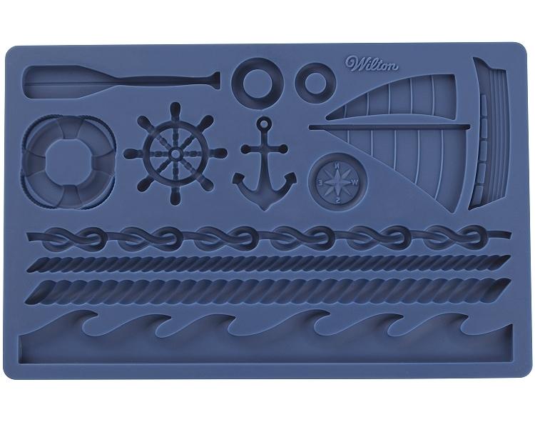 Wilton Mould -Nautical ΦΟΡΜΑ ΣΙΛΙΚΟΝΗΣ ΝΑΥΤΙΚΑ 19.7x12.5εκ