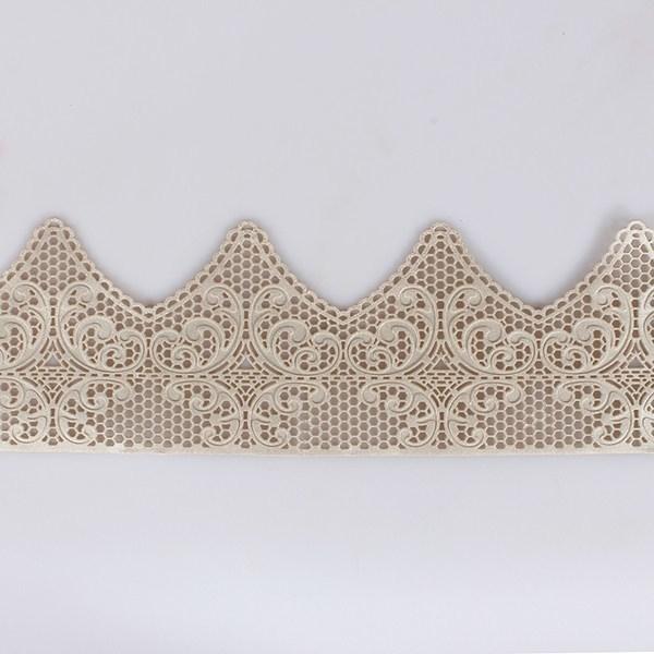 House of Cake Edible Pearl Lace -ART DECO -Έτοιμη Βρώσιμη Δαντέλα Περλέ -Αρτ Ντεκό
