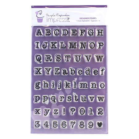 impressit™ Alphabet & Numbers: LARGE TYPEWRITER