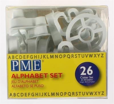 PME Cutters -Alphabet 26pcs -Κουπάτ Αλφάβητο Κεφαλαία -26τεμ -5εκ