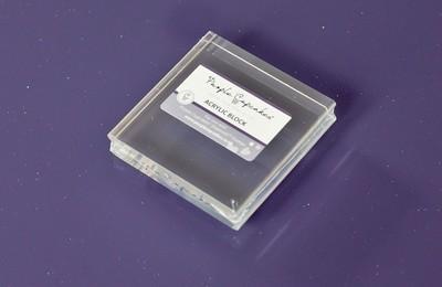 impressit™ Acrylic Block 7x7cm - Ακρυλική Φόρμα Στάμπας - 7x7εκ