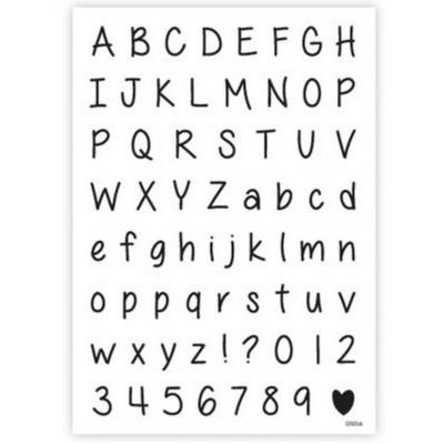 impressit™ Alphabet & Numbers Fine Tip - Αλφάβητος & Νούμερα - Λεπτά