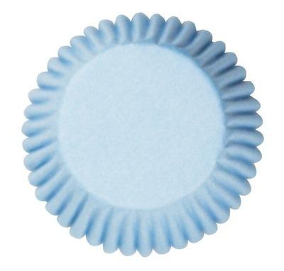 Cake Star Cupcake Cases -PLAIN PALE BLUE -Θήκες Ψησίματος -Γαλάζιο 50 τεμ